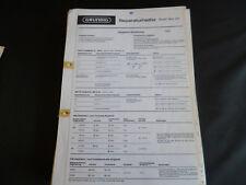 Original Service Manual Grundig Music Boy 210