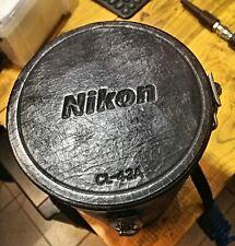 Lens case Nikon CL 43A per zoom Nikon 80-200 adattabile anche ad altri obiettivi