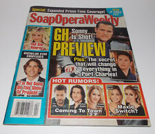 Soap Opera Weekly January 24 2012 Full Magazine Back Issue Maurice Benard GH