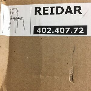 IKEA REIDAR Chair Yellow Aluminum Durable  NEW In Box 402.407.72