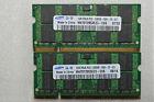 2 GB 2X1GB PC2-5300S SAMSUNG DDR2-667 MHZ CL5 MEMORY SODIMM LAPTOP RAM 200 PIN