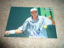 RICHARD KRAJICEK signed Original Autogramm In Person 13x18 WIMBLEDON 1996