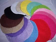 U PICK 10 newborn baby KUFI CROCHET HAT 15 color choice