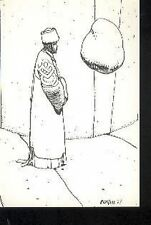 MOEBIUS Jean Giraud Arzach 6/10 carte postale cp Tirage Limité Editions Gentiane