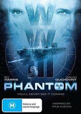 Phantom (DVD, 2013) Starring Ed Harris Brand New & Sealed Region 4
