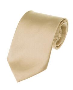 Manzini Neckwear® New Hot Trend! Solid Color Plain Classic Necktie Men's Tie