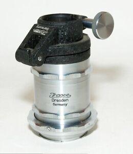 Ihagee Mikroskopadapter 1, kpl. mit Bajonettringen und Tuben