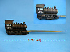 Letter Opener - LIONEL Steam Engine Resin Letter Opener Enesco NIB ~  Last One!!