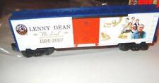 LIONEL - 39299-  LENNY DEAN COMMEMORATIVE BOXCAR - 0/027- NEW- W11