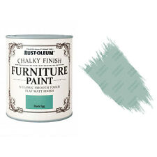 Rust-Oleum craie Crayeux MEUBLE PEINTURE usé chic 750ml Oeuf de Canard Mat