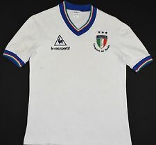 1981 ITALY LE COQ SPORTIF WORLD CHAMPIONS AWAY FOOTBALL SHIRT (SIZE M)