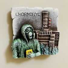 Cool Handmade Stalker Chernobyl (Chornobyl) Fridge Magnet from polystone