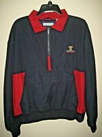 Kiawah Ocean Course Jacket World Cup Golf Womens Windbreaker L Large SC IZOD LS