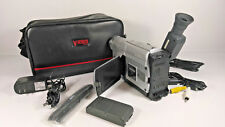 JVC 700xDigital Zoom Video Camera with Accessories and Leather Carring Bag