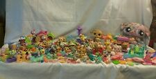 Littlest Pet Shop Lot 200 Pieces 60+ Pets Monkey Stuffed Accessories house play