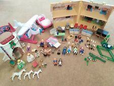 Playmobil / Vivid Imaginations Bundle, Vet Clinic, Animal Rescue Seaplane