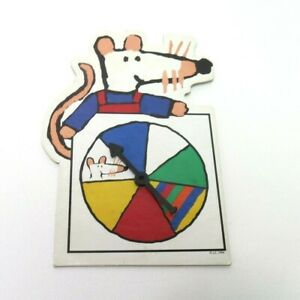 1994 Maisy Game Replacement Parts Pieces- Color Spinner