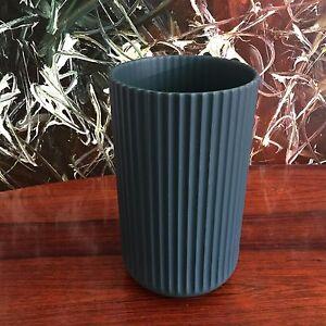 Lyngby Porcelaen Classy Lyngby Vase IN Copenhagen Green, Height 9 13/16in New