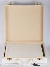 ALBUM FOTOGRAFICO e valigetta 35x35  60 pagine nere REGALO matrimonio comunione