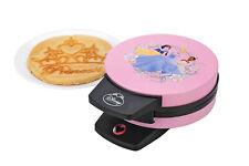 New Disney Princess Waffle Maker Baker Pink Tiara Cinderella Snow White Tiara