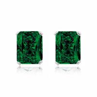 Details about  /2 Ct Ruby /& Diamond Devil Heart Stud Earrings 14Kt White Gold