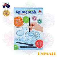 27 Piece Original Spirograph Design Set Tin Draw Drawing Kids Art Craft Create