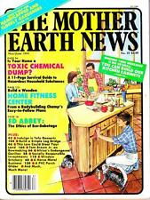 Mother Earth News No.87 Edward Abbey Interview Ethics of Eco-Sabotage