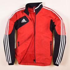 Adidas Herren Jacke Jacket Gr.3 (M) Windjacke Trainingsjacke Rot, 56792