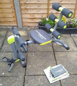 Wonder Core 2 Home Gym Exercise System Ab Toning Rowing Machine WonderCore + DVD