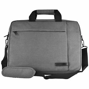 Messenger Canvas Laptop Computer Case Bag for 15 inch Apple Macbook Pro (Grey)