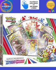 Pokemon Spada e Scudo Starter Figure Box Statuina Carte Collezione 🤩🤩