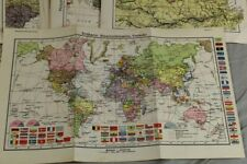 Buch: 64 Karten / Landkarten WESTERMANNS Monatsheft-Atlas - wohl um 1930  /S289