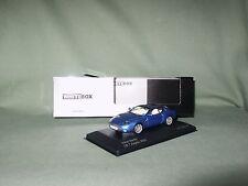 ASTON MARTIN DB 7 VANTAGE ZAGATO 2003 BLEUE 1/1000 WHITEBOX 1/43