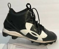Under Armour UA 1286599 001 Crusher Black Football Cleats Men's Size 10