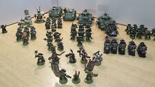 GW WARHAMMER 40K Dark Angels Space Marine Army - Pro-Painted