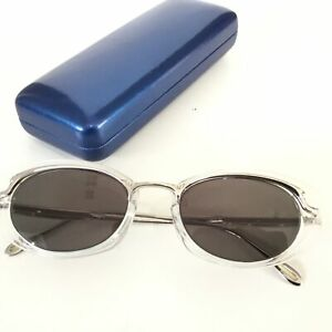 Gaultier UV Protected Eyeglasses Silver/Clear Frame, Made in Japan #323