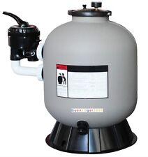 Sandfilter SIDE MOUNT Poolfilter Filteranlage 79kg 49cm Filterkessel TOP