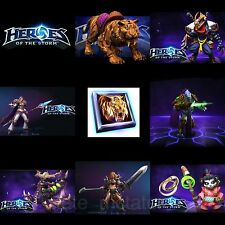Heroes of the Storm - Full Starter Pack - 7 Region Free Codes - Within 7 Hours!