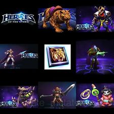 Heroes of the Storm - Full Starter Pack - 7 Region Free Codes - In 2 Hours!