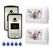 House RFID ID Card Wired Video Door Phone Audio Visual Intercom System Villa 2V2