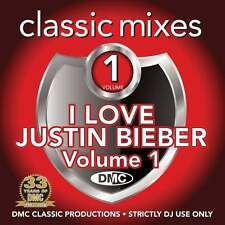 DMC Justin Bieber Megamixes & 2 Trackers Mixes Remixes Ft Ariana Grande DJ CD