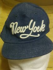 Baby NEW YORK Snapback Trucker hat BASEBALL CAP