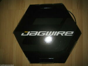 1 metre bike cycle Jagwire outer gear cable 4mm lined inc 2 end caps