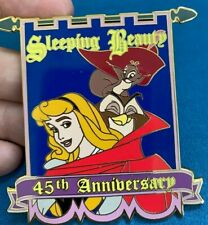 Disney Auctions Sleeping Beauty 45th Anniversary Aurora Forest Friend Pin LE 100