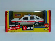 "Burago Poland PRL Polish FSO Polonez Caro ""Fire Chief"" RARE 1:43 MiB OVP"