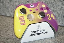 "XBOX One ""KOBE"" Custom PAINTED ELITE Controller, Purple kit, Lakers 1698 V1"