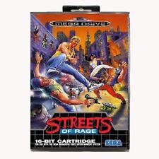 Streets of Rage 1 2 3 Game Sega Mega Drive with Box