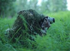 3D Camouflage Hunting Cap Blind Materials Ghillie Suit Headwear Bird Watching