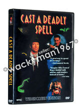 CAST A DEADLY SPELL WIDESCREEN DVD (1991) REMASTERED Fred Ward Julianne Moore