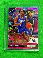 TYRESE MAXEY PRIZM PINK ICE ROOKIE CARD JERSEY #3 KENTUCKY RC 76ERS 2020 PRIZM